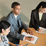 Photo of people in a meeting