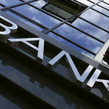 photo of Bank sign