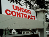 Photo of Under Contract sign