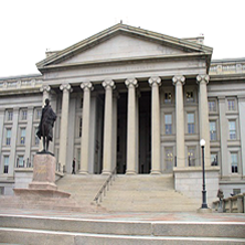 photo of Treasury building